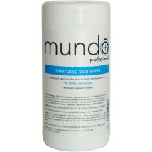 Mundo Cleansing Skin Wipes (100)