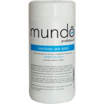 Mundo Sanitizing Skin Wipes (100)