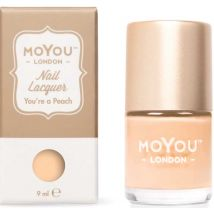 MoYou London Professional Stamping Polish, You're A Peach 9ml