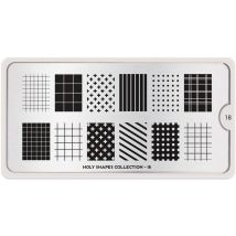 MoYou London Professional Stamping Plate, Holy Shapes 18, XL