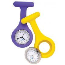 Analogue Silicone Fob Watch, Purple