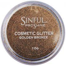 Sinful Proshine Glitter, Golden Bronze 10g