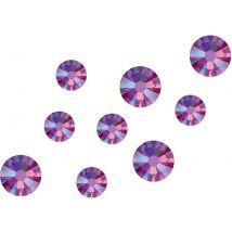 Swarovski Crystals Mix, Fuchsia Shimmer (200)