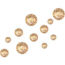 Swarovski Crystals Mix, Golden Shadow (200)