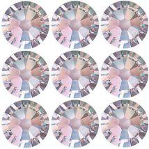 Swarovski Crystals S7 Flat Back, Aurora Borealis (100)