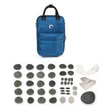 Vulsini Mini Heating Bag with 43 Piece Manicure & Pedicure Stone Kit