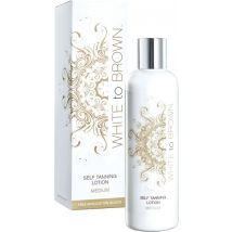 White to Brown Self Tan Lotion, Medium 250ml