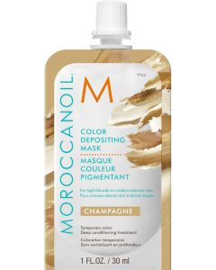 Moroccanoil Color Depositing Mask, Champagne 30ml