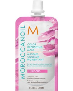 Moroccanoil Color Depositing Mask, Hibiscus 30ml