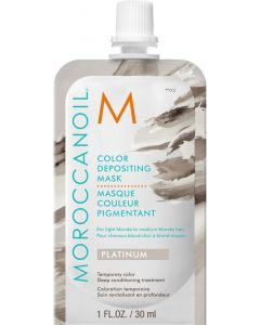 Moroccanoil Color Depositing Mask, Platinum 30ml