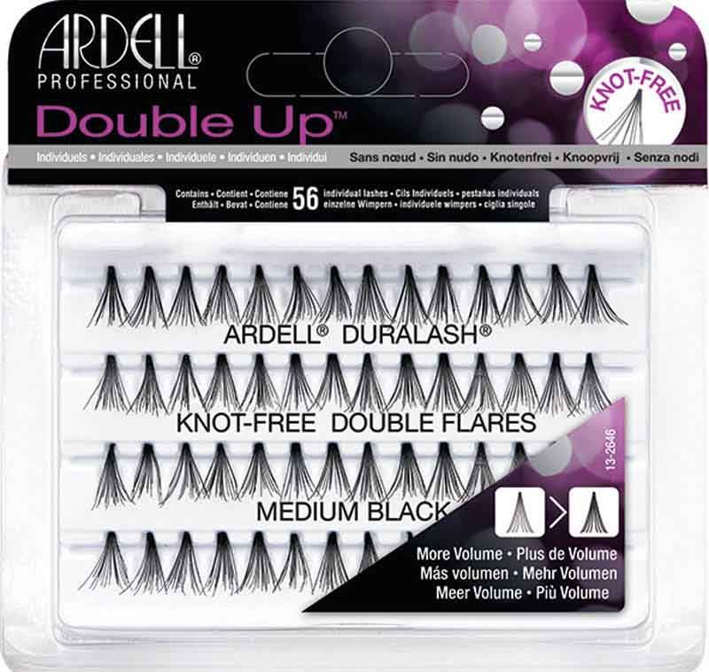 ee86b943cdb Ardell Double Up Individual Lashes, Black Medium