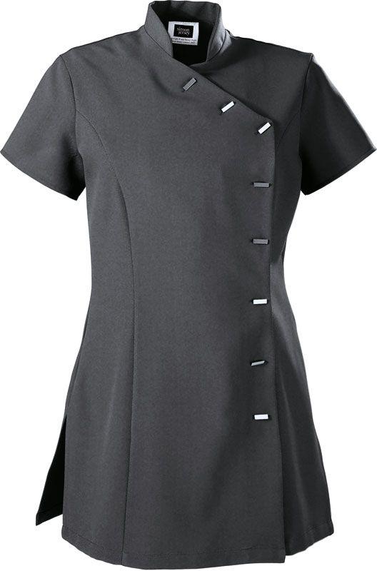 5b8a4d95d80 Simon Jersey Asymmetrical Tunic, Graphite Size 6