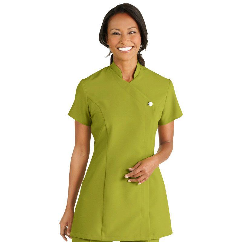 c7cb9d425e2 Simon Jersey One Button Tunic, Light Olive Size 18