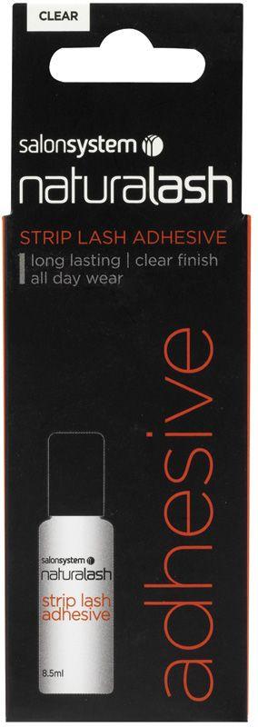 64ad1b4bd6f Salon System Naturalash Strip Lash Adhesive, Clear 8ml