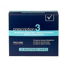 Proclère Prescription 3 Cleaning Wipes (20)
