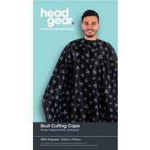 Head Gear Cutting Cape, Skull Print