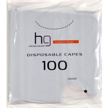 Head Gear Disposable Capes, Black (100)