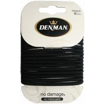 Denman No Damage Elastics, Black Large (18)