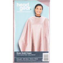 Head Gear Cape, Rose Gold