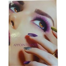 Nail Appointment Book, 3 Column