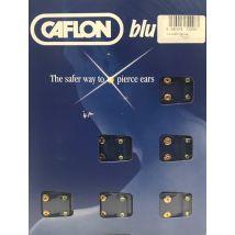 Caflon Gold Plated April Birthstone Earrings, Regular (12)