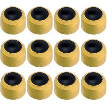 Caflon Gold Plated Black Onyx Earrings, Regular (12)