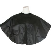 Hair Tools PVC Shoulder Cape, Black