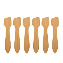 Eco-Friendly Disposable Bamboo Spatulas (25)