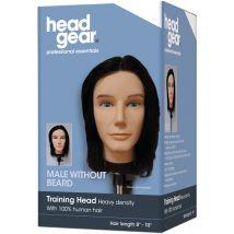 Head Gear Male Practice Head without Beard