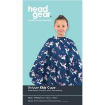 Head Gear Unicorn Kids Cape, Navy