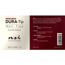 NSI Dura Tips Ultra Deep, Size 1-10 (300)