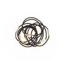 Pony Tail Elastics, Black (10)