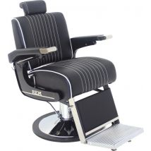 REM Voyager Classic Barbers Chair, Black