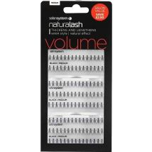Salon System Individual Flare Lashes Salon Value Pack, Black Short