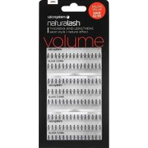 Salon System Individual Flare Lashes Salon Value Pack, Black Medium