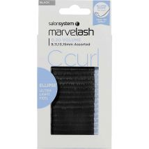 Salon System Marvelash Super Soft Lashes, C Curl 13mm