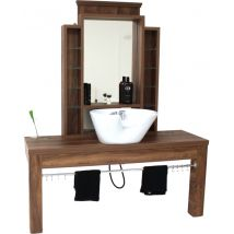 REM Montana Barbers Unit (With Frontwash Sink)