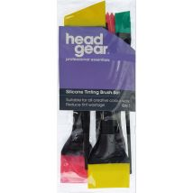 Head Gear Silicone Tinting Brush Set
