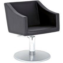 AGV Ekatos Styling Chair on P14 Round Hydraulic Base, Black