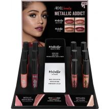Ardell Beauty Metallic Addict 12 Piece Lip Gloss Display