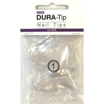 NSI Dura Tips Clear, Size 1 (50)