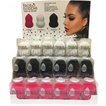 Face Bobble Make-up Blender 18 Piece Display