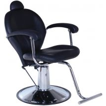 Real Salons Weston Beauty Chair, Black