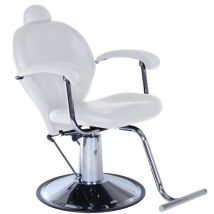 Real Salons Weston Beauty Chair, White