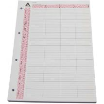 Loose Leaf Refill Pages, 4 Column (100)
