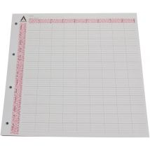 Loose Leaf Refill Pages, 9 Column (100)