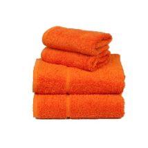 BC Softwear Comfy Bath Sheet, Orange 1700mm