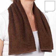 BC Softwear Comfy Hot Towel/Gym Towel, White