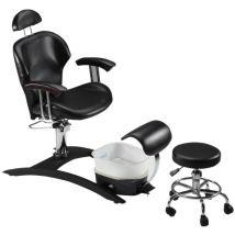 Belava Indulgence Chair, Black