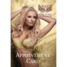 Crazy Angel Appointment Cards (25)